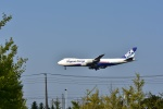 カシオペアさんが、新千歳空港で撮影した日本貨物航空 747-8KZF/SCDの航空フォト(飛行機 写真・画像)