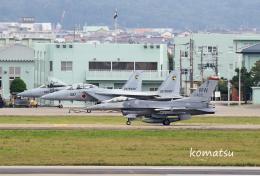 わかすぎさんが、小松空港で撮影したアメリカ空軍 F-16CM-50-CF Fighting Falconの航空フォト(飛行機 写真・画像)