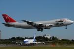 tassさんが、成田国際空港で撮影したノースウエスト航空 747-251B(SF)の航空フォト(飛行機 写真・画像)