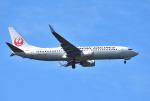 mojioさんが、成田国際空港で撮影した日本航空 737-846の航空フォト(飛行機 写真・画像)