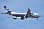 mojioさんが、成田国際空港で撮影した日本貨物航空 747-8KZF/SCDの航空フォト(写真)