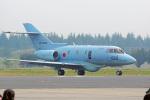 ちゃぽんさんが、入間飛行場で撮影した航空自衛隊 U-125A(Hawker 800)の航空フォト(写真)