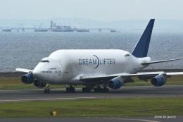 gucciyさんが、中部国際空港で撮影したボーイング 747-4J6(LCF) Dreamlifterの航空フォト(飛行機 写真・画像)