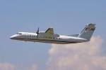 ちゃぽんさんが、中部国際空港で撮影した国土交通省 航空局 DHC-8-315Q Dash 8の航空フォト(写真)