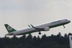 ANA744Foreverさんが、成田国際空港で撮影したエバー航空 A321-211の航空フォト(飛行機 写真・画像)