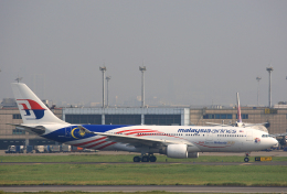 tsubameさんが、台湾桃園国際空港で撮影したマレーシア航空 A330-223の航空フォト(飛行機 写真・画像)