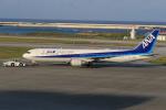 みるぽんたさんが、那覇空港で撮影した全日空 767-381/ERの航空フォト(写真)