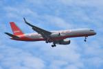 mojioさんが、成田国際空港で撮影したアビアスター 757-223(PCF)の航空フォト(飛行機 写真・画像)