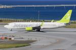 みるぽんたさんが、那覇空港で撮影したソラシド エア 737-81Dの航空フォト(写真)