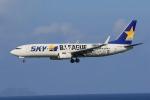 みるぽんたさんが、那覇空港で撮影したスカイマーク 737-86Nの航空フォト(写真)