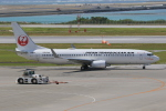 みるぽんたさんが、那覇空港で撮影した日本トランスオーシャン航空 737-8Q3の航空フォト(写真)