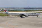 みるぽんたさんが、那覇空港で撮影した日本航空 777-346の航空フォト(写真)