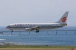 みるぽんたさんが、那覇空港で撮影した中国国際航空 737-86Nの航空フォト(写真)