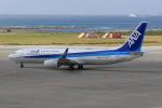 みるぽんたさんが、那覇空港で撮影した全日空 737-8ALの航空フォト(写真)