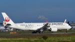 パンダさんが、成田国際空港で撮影した日本航空 A350-941XWBの航空フォト(飛行機 写真・画像)