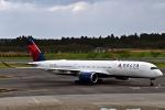 kazupen2018さんが、成田国際空港で撮影したデルタ航空 A350-941XWBの航空フォト(写真)