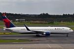 kazupen2018さんが、成田国際空港で撮影したデルタ航空 767-332/ERの航空フォト(写真)
