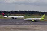 kazupen2018さんが、成田国際空港で撮影したジンエアー 737-86Nの航空フォト(写真)