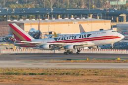 Tomo-Papaさんが、ロサンゼルス国際空港で撮影したカリッタ エア 747-4B5(BCF)の航空フォト(飛行機 写真・画像)