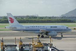 JA8037さんが、杭州蕭山国際空港で撮影した中国国際航空 A319-131の航空フォト(飛行機 写真・画像)