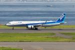 Koenig117さんが、羽田空港で撮影した全日空 A321-272Nの航空フォト(写真)