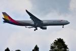 mojioさんが、成田国際空港で撮影したアシアナ航空 A330-323Xの航空フォト(飛行機 写真・画像)