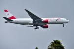 mojioさんが、成田国際空港で撮影したオーストリア航空 777-2B8/ERの航空フォト(飛行機 写真・画像)