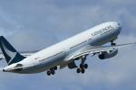 さんたまるたさんが、中部国際空港で撮影したキャセイパシフィック航空 A330-343Xの航空フォト(写真)