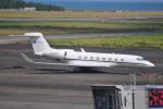 M.Ochiaiさんが、宮崎空港で撮影した中国企業所有 G650 (G-VI)の航空フォト(写真)