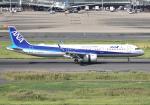 雲霧さんが、羽田空港で撮影した全日空 A321-272Nの航空フォト(写真)