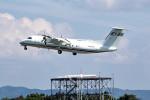 deideiさんが、但馬飛行場で撮影した国土交通省 航空局 DHC-8-315Q Dash 8の航空フォト(飛行機 写真・画像)