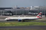 KAZFLYERさんが、羽田空港で撮影したブリティッシュ・エアウェイズ 777-36N/ERの航空フォト(飛行機 写真・画像)