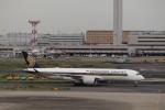 KAZFLYERさんが、羽田空港で撮影したシンガポール航空 A350-941XWBの航空フォト(飛行機 写真・画像)