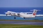 akinarin1989さんが、久米島空港で撮影した琉球エアーコミューター DHC-8-402Q Dash 8 Combiの航空フォト(飛行機 写真・画像)