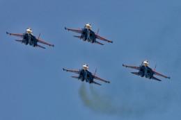 Airliners Freakさんが、アタテュルク国際空港で撮影したロシア空軍 - Russian Air Force Su-30SMの航空フォト(飛行機 写真・画像)