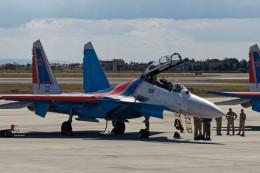 Airliners Freakさんが、アタテュルク国際空港で撮影したRussia - Air Force Su-30SMの航空フォト(飛行機 写真・画像)