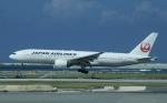 akinarin1989さんが、那覇空港で撮影した日本航空 777-289の航空フォト(写真)