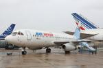 安芸あすかさんが、ル・ブールジェ空港で撮影したエールアンテール Mercure 100の航空フォト(写真)