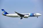 Yukipaさんが、スワンナプーム国際空港で撮影したエジプト航空 A330-343Xの航空フォト(写真)