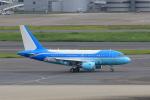たまさんが、羽田空港で撮影した環球世紀会展旅游集団(東方公務航空) A318-112 CJ Eliteの航空フォト(写真)