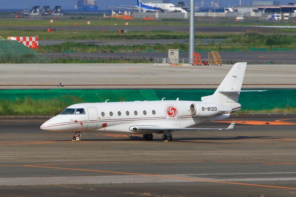 たまさんの鳳凰衛視控股有限公司(Phoenix Satellite Television Co.Ltd. )  Gulfstream Aerospace G200/G250/G280 (B-8120) 航空フォト