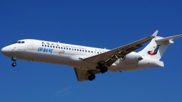 Fa1rrhavenさんが、呼和浩特白塔国際空港で撮影した天驕航空 ARJ21-700の航空フォト(飛行機 写真・画像)
