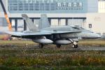 Flankerさんが、千歳基地で撮影したオーストラリア空軍 F/A-18A Hornetの航空フォト(写真)