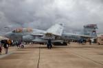 チャッピー・シミズさんが、ミラマー海兵隊航空ステーション で撮影したアメリカ海兵隊 EA-6B Prowler (G-128)の航空フォト(飛行機 写真・画像)