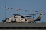 チャーリーマイクさんが、横浜港で撮影した海上自衛隊 SH-60Kの航空フォト(写真)