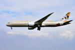 mojioさんが、成田国際空港で撮影したエティハド航空 787-9の航空フォト(飛行機 写真・画像)