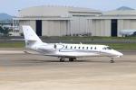 なごやんさんが、名古屋飛行場で撮影したノエビア 680 Citation Sovereignの航空フォト(写真)