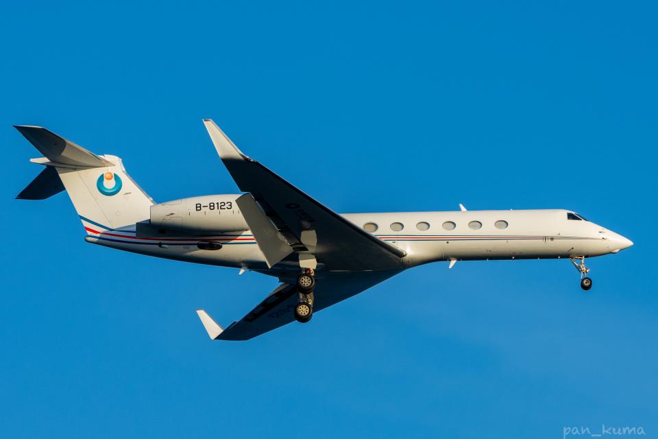ぱん_くまさんの不明 Gulfstream G500/G550 (G-V) (B-8123) 航空フォト