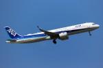 ばっきーさんが、小松空港で撮影した全日空 A321-272Nの航空フォト(写真)