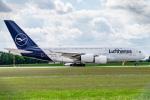 gomaさんが、ミュンヘン・フランツヨーゼフシュトラウス空港で撮影したルフトハンザドイツ航空 A380-841の航空フォト(写真)